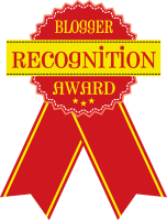 Blogger Recognition Award #BloggerRecognitionAward