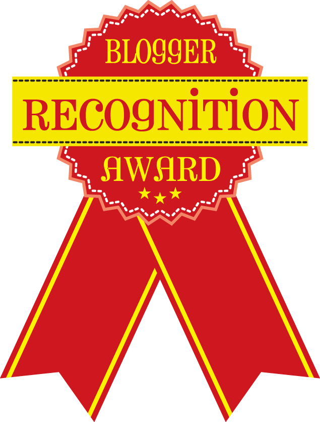 Blogger Recognition Award #BloggerRecognitionAward