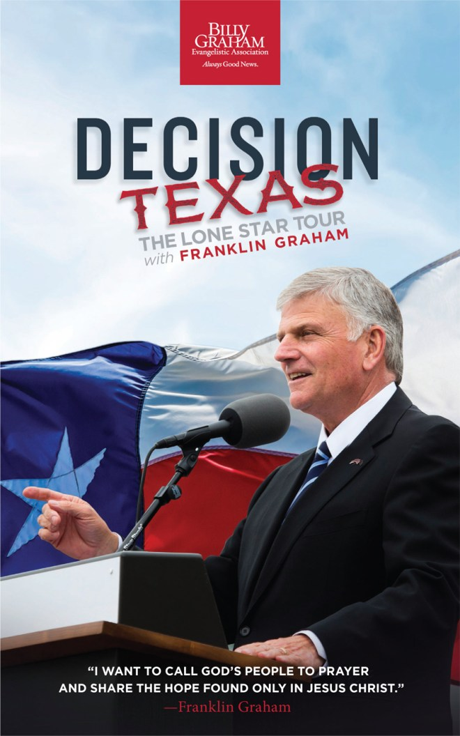 Decision Texas The Lone Star Tour cover #DecisionTexas #LoneStarTour