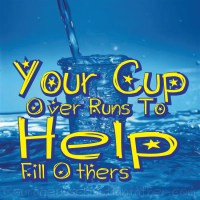 Your Cup Over Runs to-Help Fill Others