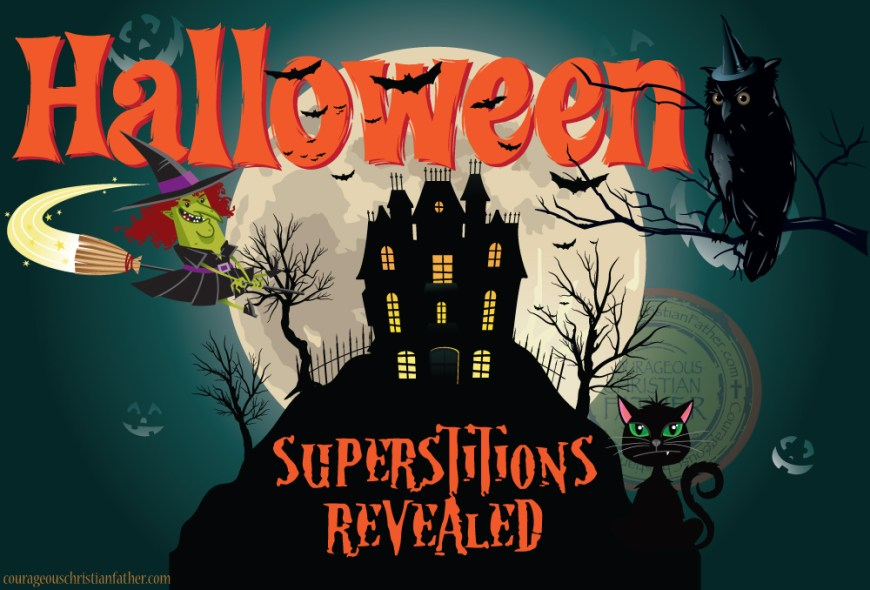 Halloween superstitions revealed. Steeped in tradition, Halloween season also is a time of year when superstitions take root and add to the spooky and often silly nature of the holiday. Some Halloween traditions are traced back to the ancient Celts. Their belief that spirits of the deceased were able to wander the earth during the time they called Samhain. Folks would wear costumes so the living could blend in with ghosts, and treats were laid out to appease the spirits. #Halloween