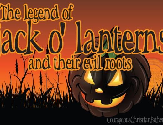 The legend of jack-o'-lanterns and their evil roots #Jackolanterns