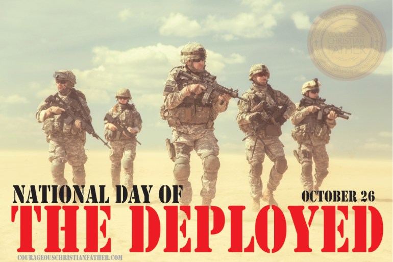 National Day of the Deployed #DayOfTheDeployed
