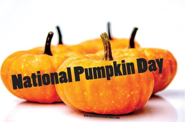 National Pumpkin Day #NationalPumpkinDay
