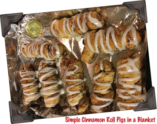 Simple Cinnamon Roll Pigs in a Blanket