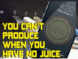 You can't produce when you have no juice