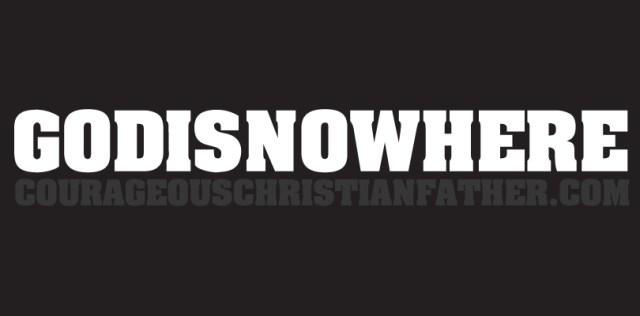 GODISNOWHERE - What phrase do you see first?