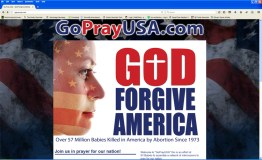 GoPrayUSA screenshot