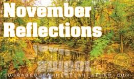 November Reflections 2017