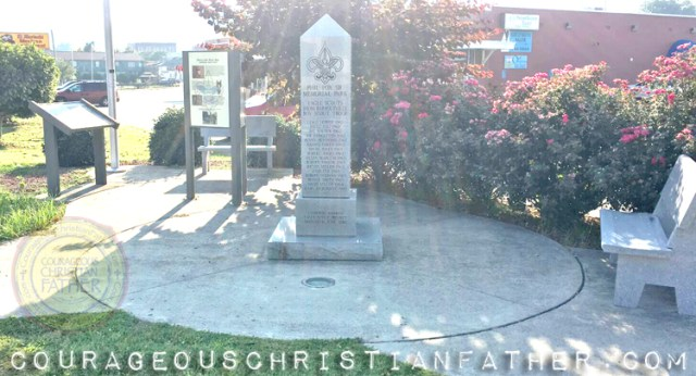 Phil Fox Sr. Memorial Park - Eagle Scouts from Barbourville, KY