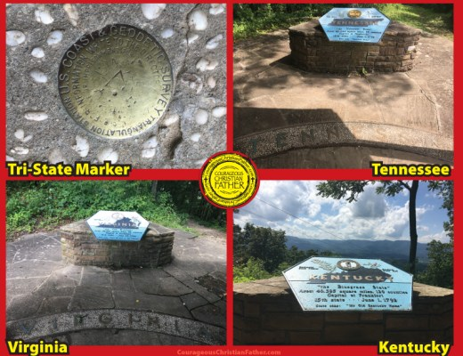 Tri-State Marker Tennessee Kentucky Virginia