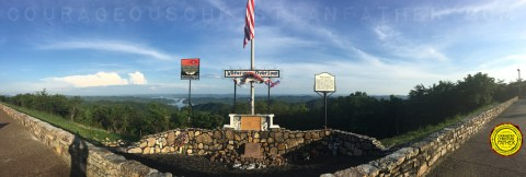Veterans Overlook (Clinch Mountain - Bean Station, TN) #VeteransOverlook