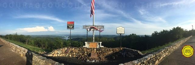 Veterans Overlook (Clinch Mountain - Bean Station, TN) #VeteransOverlook