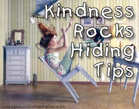 Kindness Rocks Hiding Tips