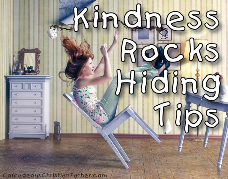 Kindness Rocks Hiding Tips