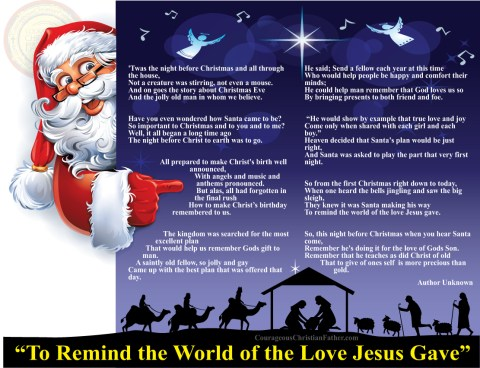 To Remind the World of the Love Jesus Gave