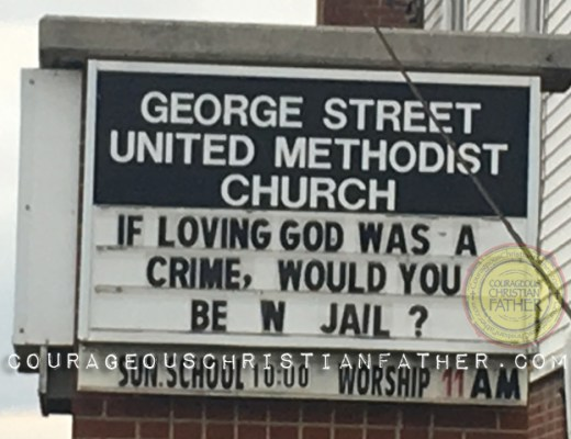George Street United Methodist Church - If Loving God Was A Crime, Would You Be in Jail?