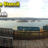 The Honorable Stancil Ford Overlook at Panther Creek State Park (Clinch Mountain & Cherokee Lake)