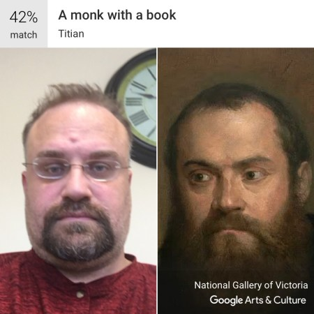 A Monk With A Book - Google Art and Culture App #MuseumDoppelganger #Doppelganger