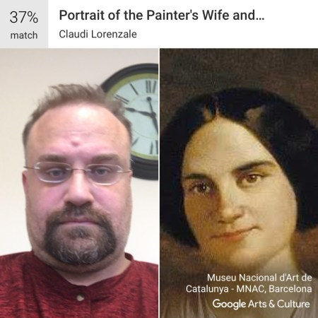 Portrait of the Painter's Wife and Children - Google Art and Culture App #MuseumDoppelganger #Doppelganger