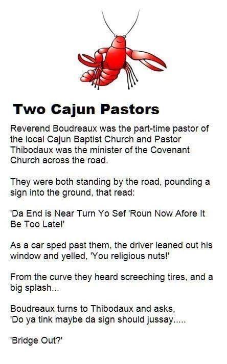 Two Cajun Pastors - Da End Is Near
