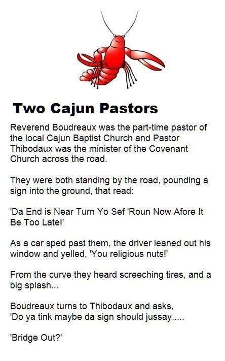 Two Cajun Pastors - Da End Is Near