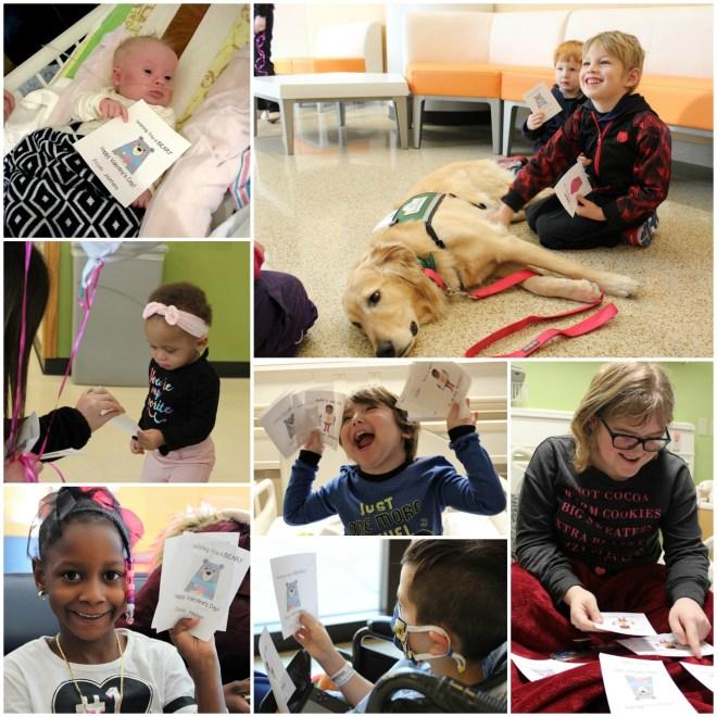 More than 222,000 valentines were sent to Cincinnati Children's Hospital.