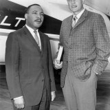 """""""Had it not been for the ministry of my good friend, Dr. Billy Graham, my work in the civil rights movement would not have been as successful as it has been,"""" said Martin Luther King Jr. (photo: Chicago, 1952) -- Billy Graham on Race Relations"""