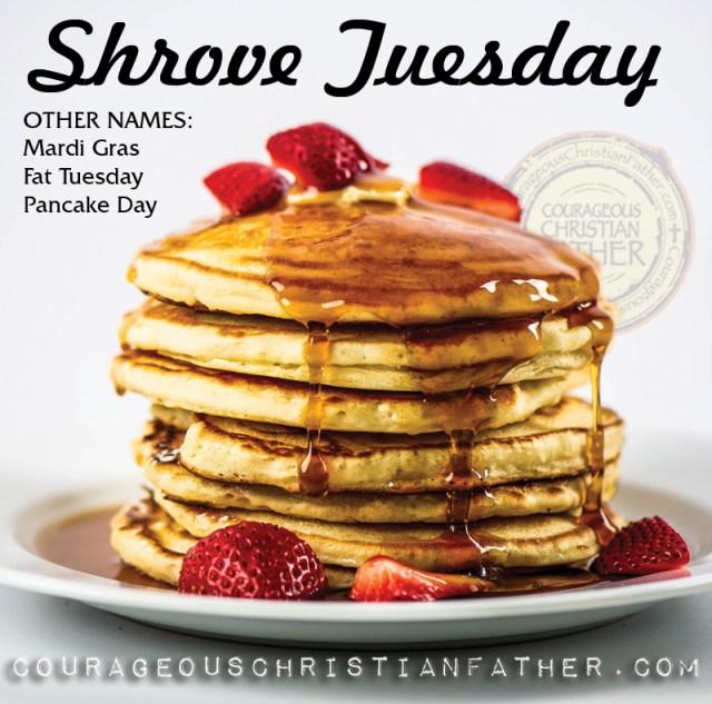 Shrove Tuesday (Mardi Gras, Fat Tuesday, Pancake Day)