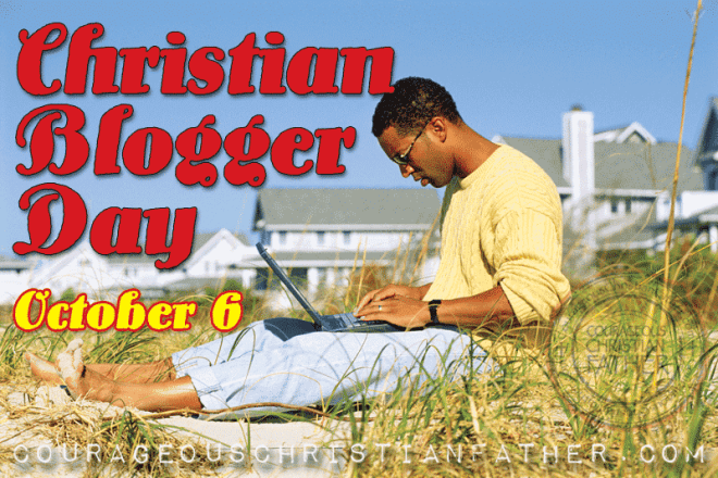 Christian Blogger Day #ChristianBloggerDay