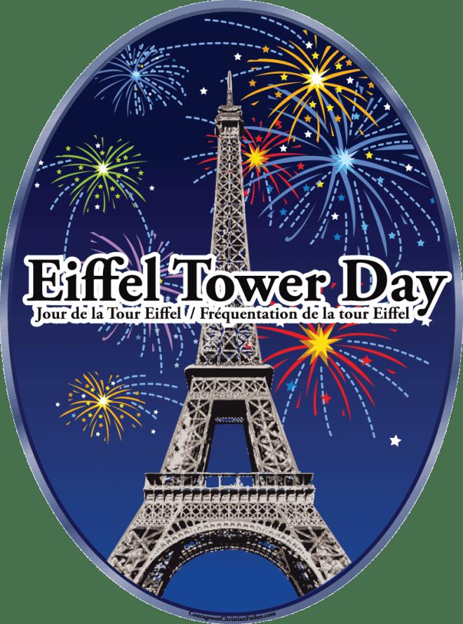 Eiffel Tower Day Jour de la Tour Eiffel - Fréquentation de la tour Eiffel