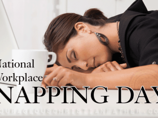 National Workplace Napping Day #NappingDay