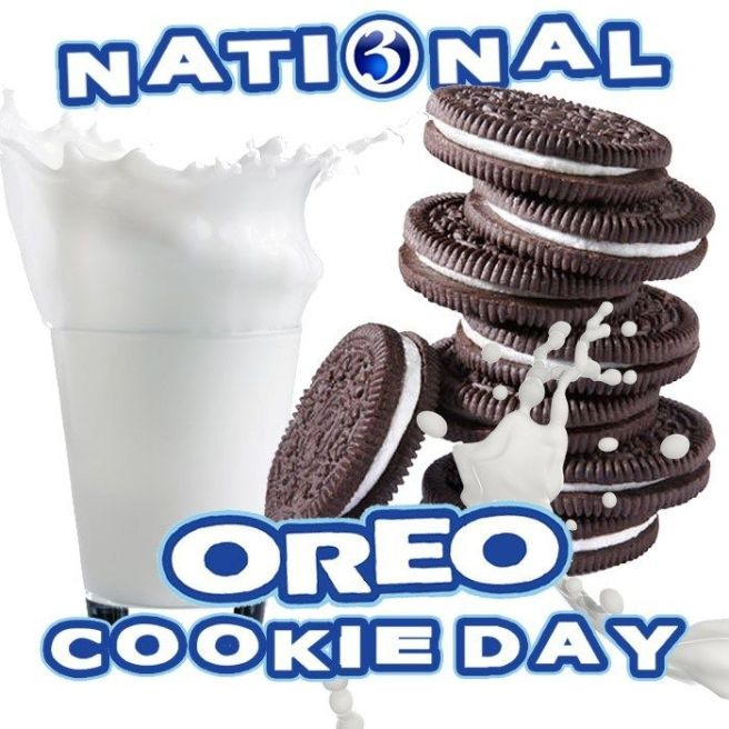 National Oreo Cookie Day