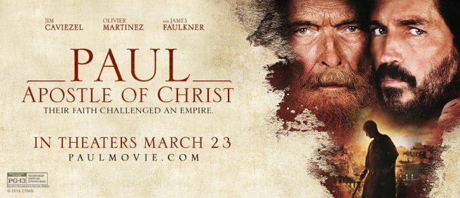 Paul, Apostle of Christ #PaulMovie