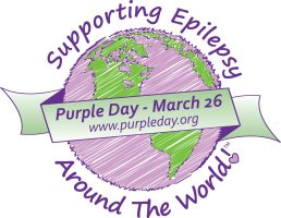 Purple Day for Epilepsy awareness logo #PurpleDay