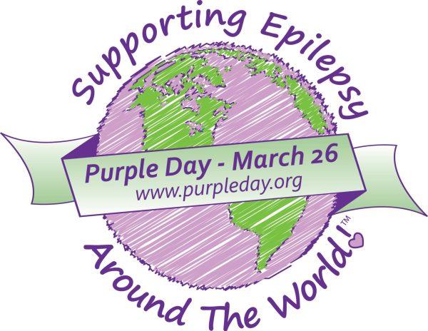Purple Day for Epilepsy awareness logo #PurpleDay