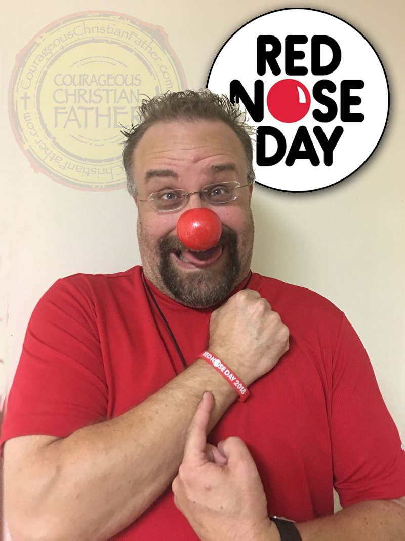 red nose day to end child poverty courageous christian