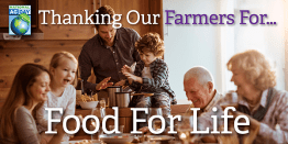 Thanking Our Farmers for Food for Life - National Ag Day