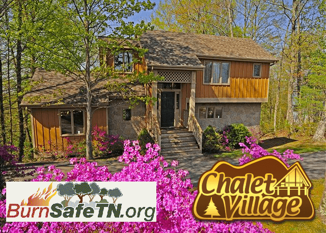 Chalet Village Nationally Recognized for Wildfire Preparedness - Burn Safe TN
