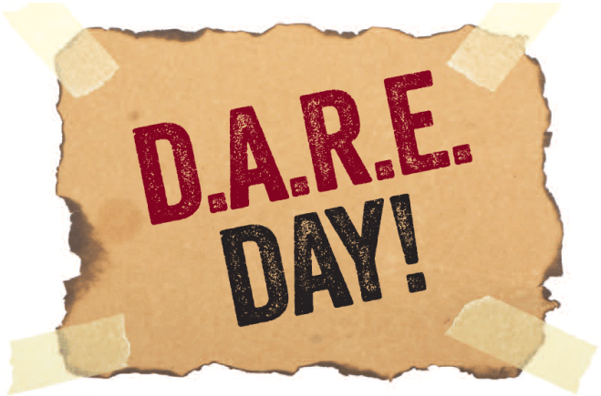 National D.A.R.E. Day #DARE