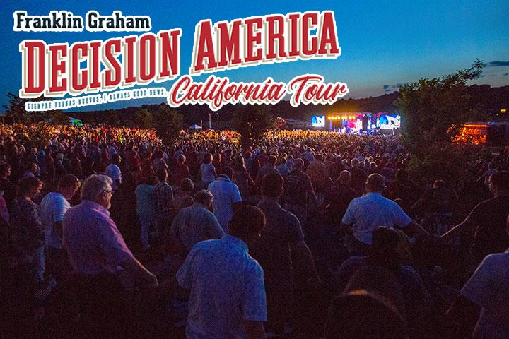Decision America California Tour 2018