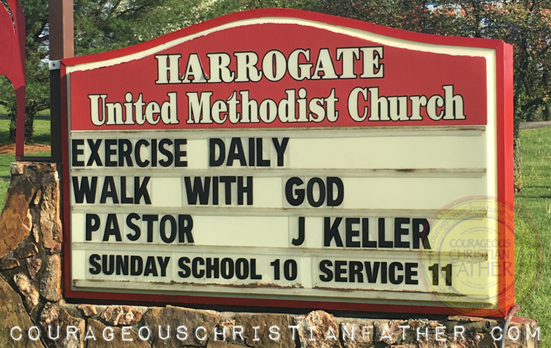 Exercise Daily Walk with God - Harrogate United Methodist Church