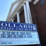 Pollard Baptist Church in Ashland, KY, will be closing its doors on May 1 after 126 years in the northeastern Kentucky community. At the end of your rope? Fall into the arms of Jesus. (Photo Credit: Kentucky Today/Mark Maynard)