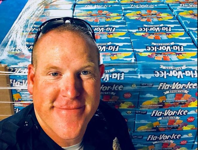 Lexington Police Department and Freezer Pops for Kids