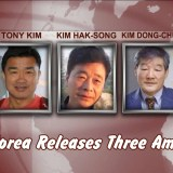 North Korea Releases Three Americans - Kim Sang Duk (also known as Tony Kim), Kim Hak-Song & Kim Dong-Chul.