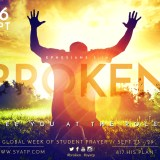See You At the Pole 2018 - Broken - This years See You At the Pole is September 26, 2018 with the Bible verse from Ephesians 3:14. #SYATP