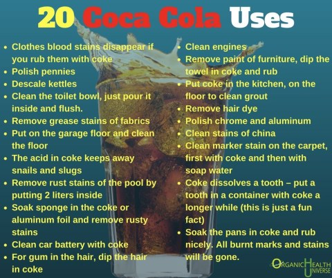 20 USes for Coca Cola