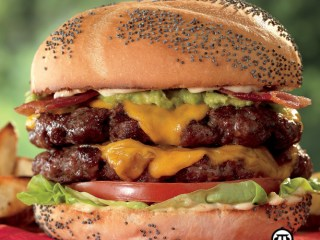 Fire Up The Grill With Extreme Burgers - A recipe for an extreme burger that is great grilled on your grill. #ExtremeBurgers