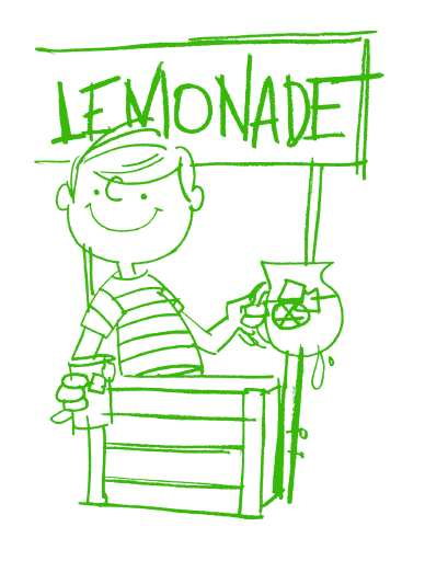 Lemonade Day - Lemonade Stand