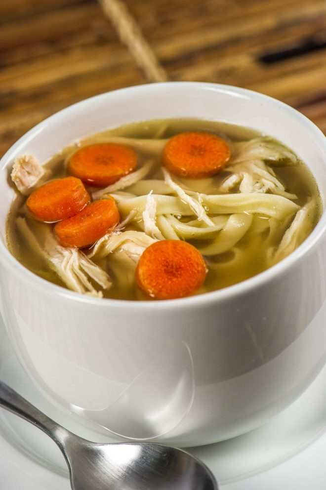 Chicken soup is good for more than the soul - While there's no cure for the common cold, cold remedies have been around for centuries. Chicken soup remains one of the more popular cold remedies. Grandmothers have long espoused the virtues of chicken soup with regard to treating colds, but now research is backing up those claims. #ChickenSoup